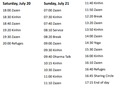 julyretreatschedule